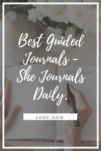 best guided journals she journals daily