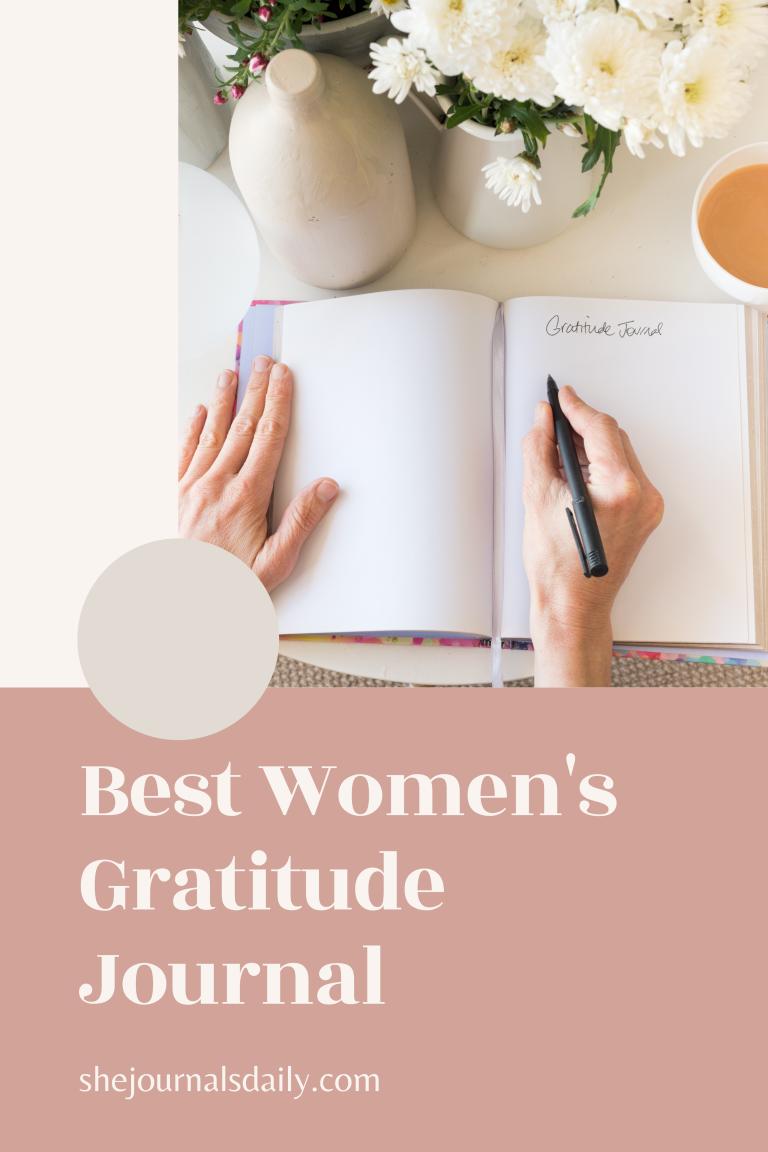Best Women's Gratitude Journal