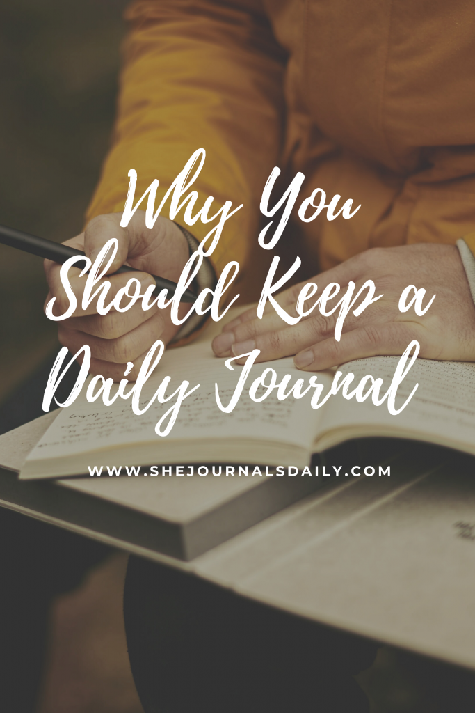 Why you should keep a daily journal
